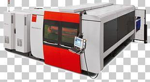 Laser Cutting Fiber Laser Bystronic Sheet Metal PNG