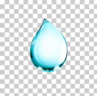 Water Blue Drop Computer File PNG