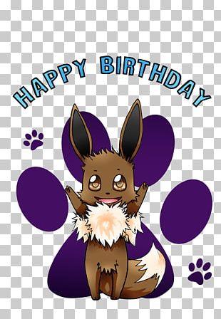 Eevee Birthday Cake Happy Birthday To You Domestic Rabbit PNG