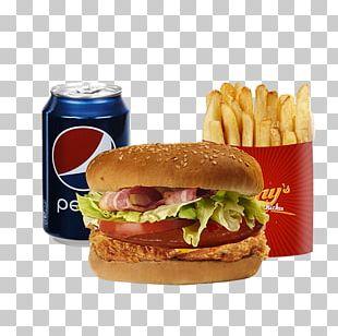 Hamburger Cheeseburger French Fries Fast Food Whopper PNG