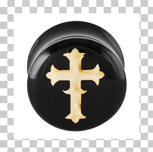Inlays And Onlays Earplug Celtic Cross Poly PNG