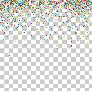 Paper Confetti Color PNG