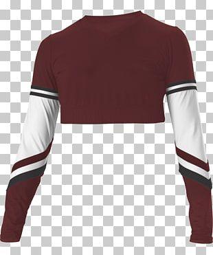 T-shirt Sleeve Cheerleading Uniforms PNG