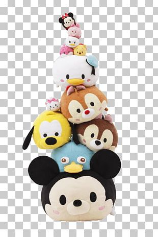 Disney Tsum Tsum Minnie Mouse T-shirt The Walt Disney Company Stuffed Animals & Cuddly Toys PNG