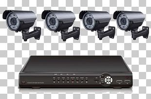Closed-circuit Television System Digital Video Recorders Wireless Security Camera PNG