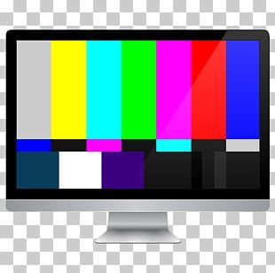 SMPTE Color Bars High-definition Television Computer Icons PNG