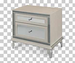 Bedside Tables Drawer Furniture Mirror PNG