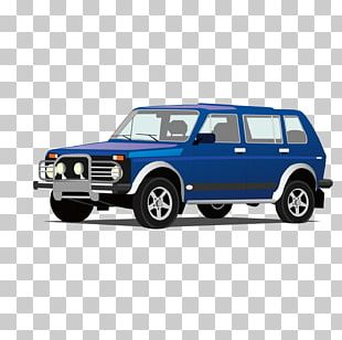 Car LADA 4x4 Chevrolet Niva Drawing PNG