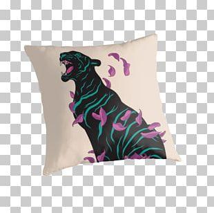 Black Tiger Society6 Cat Art PNG