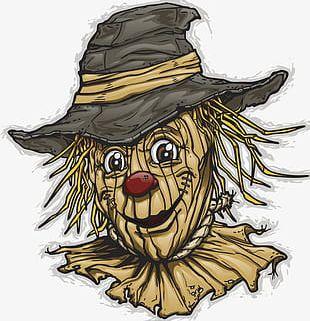 Halloween Scarecrow PNG