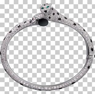Silver Bracelet Emerald Diamond Brilliant PNG