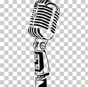 Microphone Music Radio PNG