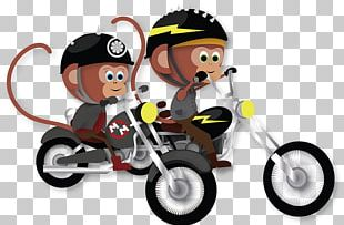 Mimi And Moto: The Motorcycle Monkeys Vehicle Sporting Goods PNG