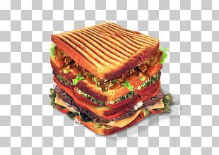 Sandwich Hamburger Chicken Kebab Bacon PNG