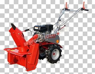 Two-wheel Tractor Winter Service Vehicle Snow Removal Mower Snow Blowers PNG