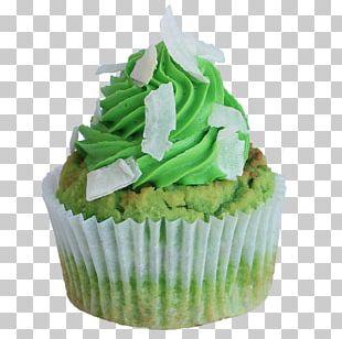 Cupcake Frosting & Icing Cream Pandan Cake PNG