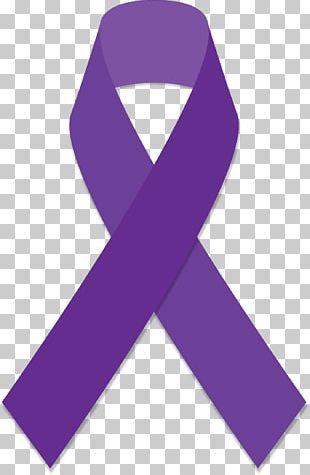 Purple Ribbon Awareness Ribbon Cancer PNG