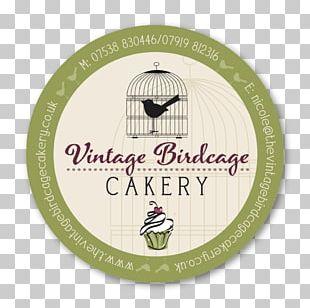Vintage Birdcage Cakery Logo Font PNG