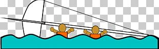 Sailboat Capsizing Graphics PNG