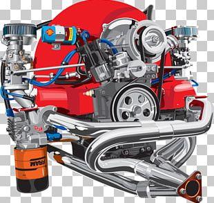 Engine Volkswagen Beetle Car Volkswagen SP2 PNG