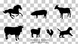 Sheep Cattle Horse Pig PNG