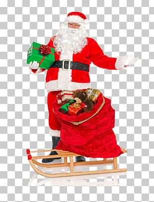 Santa Claus Toy Christmas Stock Photography Gift PNG