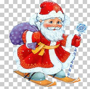 New Year Santa Claus Christmas Ded Moroz PNG