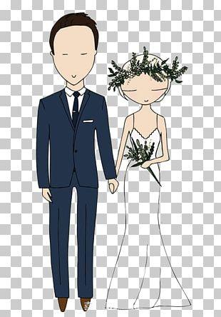 Wedding Invitation Marriage Bride Illustration PNG