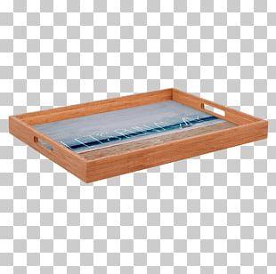 Wood Tray Tea Bag Rectangle PNG