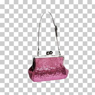 Handbag Leather Pink M Messenger Bags PNG