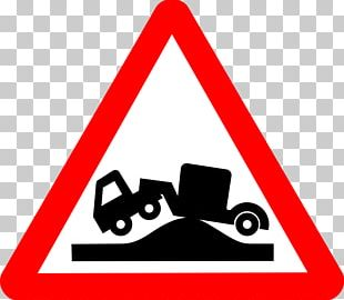 Car Traffic Sign Truck Warning Sign Road PNG