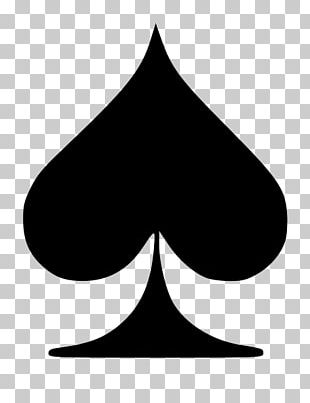 0 Ace Of Spades Playing Card Suit PNG