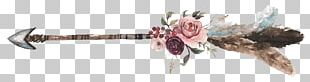 Arrow Flower Bouquet Floral Design PNG