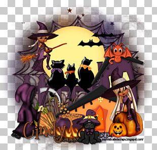 Illustration Halloween Cartoon Cat Desktop PNG