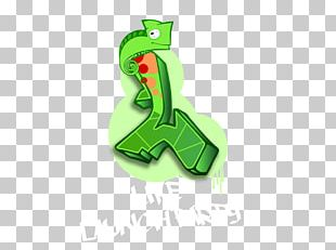 Frog Green Font PNG