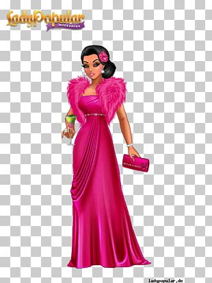 Lady Popular The Frog Prince Fashion Frau Holle Fairy Tale PNG