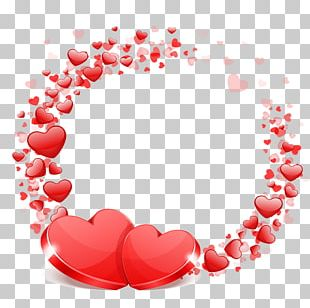 Wedding Valentine's Day Heart Wish PNG