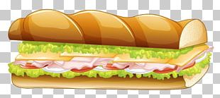 Hamburger Submarine Sandwich Pizza Panini Fast Food PNG