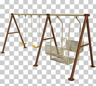 Swing Playground Slide Chain Child Game PNG