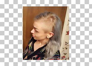 Blond Hair Coloring Ponytail Long Hair PNG