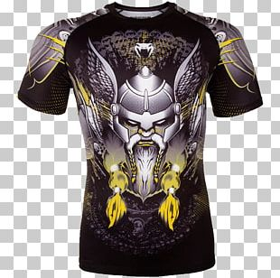 T-shirt Venum Rash Guard Mixed Martial Arts Clothing PNG