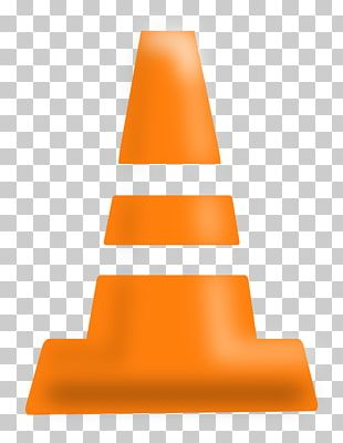 Orange Traffic Cone Road PNG