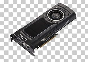 Graphics Cards & Video Adapters NVIDIA GeForce GTX TITAN Series Graphics Processing Unit Maxwell PNG