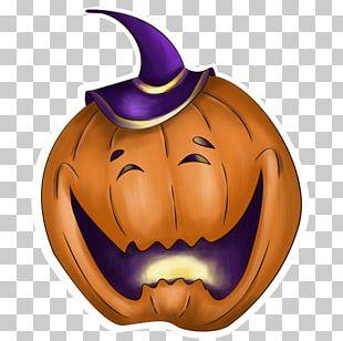 Halloween Sticker Jack-o'-lantern Pumpkin PNG