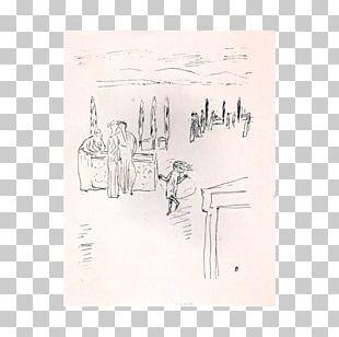 Paper Line Sketch PNG