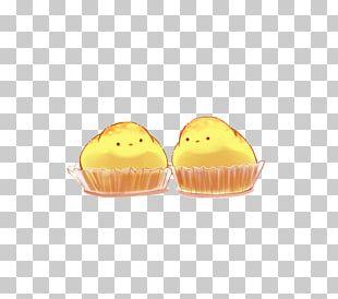 Petit Four Yellow PNG