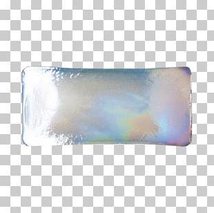 Glass Tile Milk Glass Blue PNG