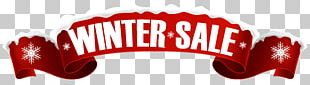 Sales Banner Winter PNG