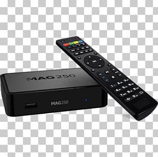 Set-top Box Infomir IPTV Set Top Box Mag 254 Over-the-top Media Services PNG