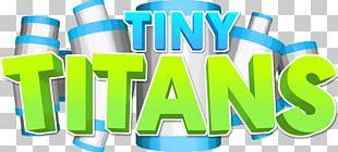 T-shirt Roblox Tiny Titans Logo PNG